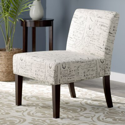 Margaret Patterned Slipper Chair Upholstery: Parisian