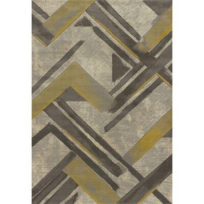 Dov Grey Area Rug Rug Size: 710 x 106