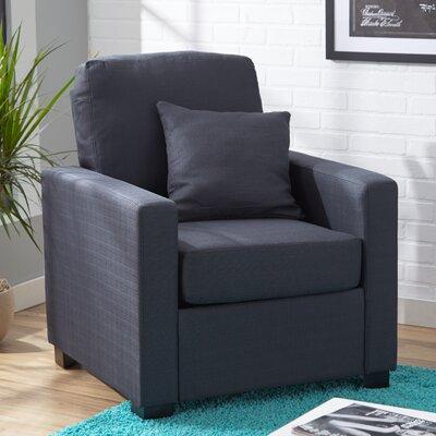 Amanda Armchair Upholstery: Graphite