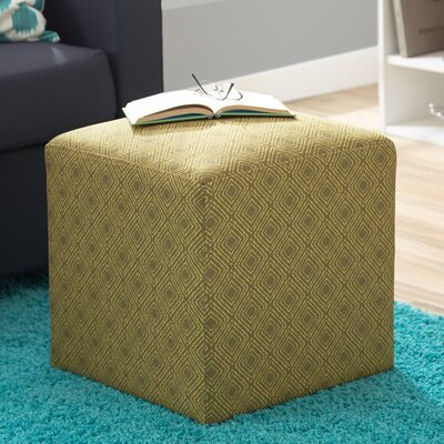 Jillian Cube Ottoman Upholstery: Jungle