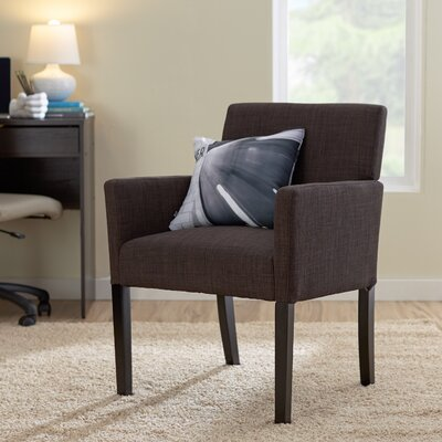 Rebecca Arm Chair Color: Black