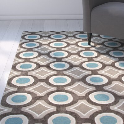 Capucina Tufted Blue Area Rug