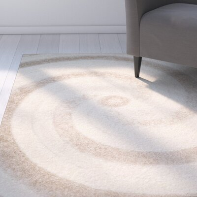 Coolidge Cream/Beige Area Rug Rug Size: Runner 23 x 7
