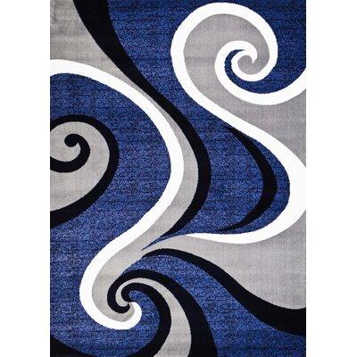 Kylah Abstract Area Rug Rug Size: 52 x 72