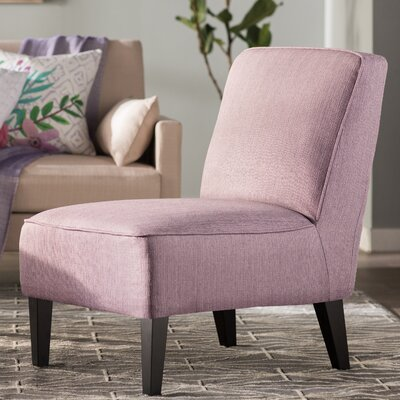 Finley Slipper Chair Upholstery: Purple