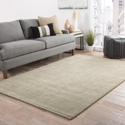 Elianna Hand-Loomed Seneca Rock Area Rug Rug Size: Rectangle 8 x 11