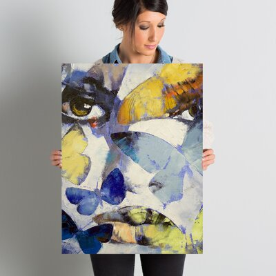 'Gothic Butterflies' Painting Print on Wrapped Canvas EBND7032 41001467