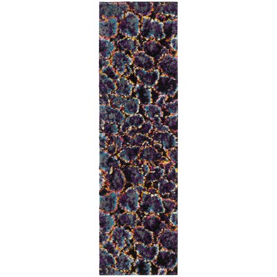 Cleveland Contemporary Turquoise Area Rug Rug Size: Runner 23 x 8