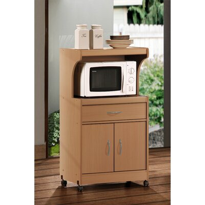 Blase Microwave Cart Base Finish: Beech
