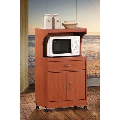 Blase Microwave Cart Base Finish: Cherry