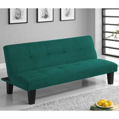 Chanler Convertible Sofa Finish: Green