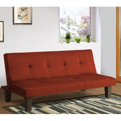 Chanler Convertible Sofa Finish: Orange