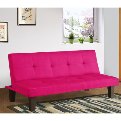 Chanler Convertible Sofa Finish: Pink