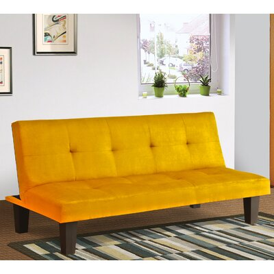 Chanler Convertible Sofa Finish: Yellow