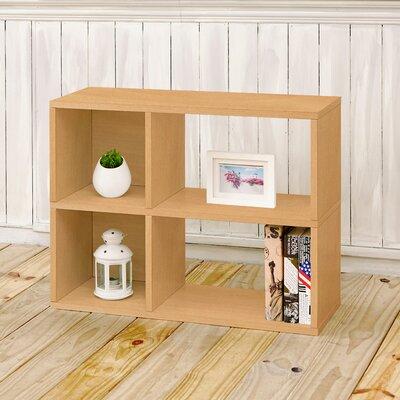 Clara Cube Unit Bookcase Finish: Natural
