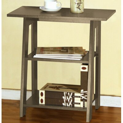Goldie Ladder Chairside End Table Color: Rustic Gray