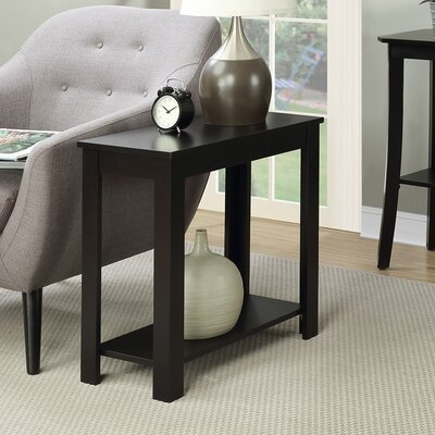 Lockheart End Table Finish: Black