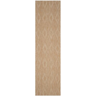 Lefferts Natural Indoor/Outdoor Area Rug Rug Size: Runner 23 x 8