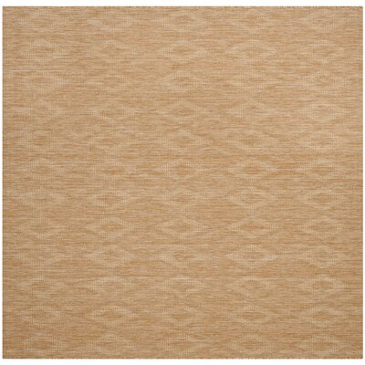 Lefferts Natural Indoor/Outdoor Area Rug Rug Size: Square 67