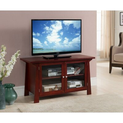 Shirley 32 TV Stand Color: Cherry