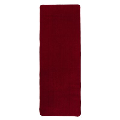 Bundinie Hill Bath Rug Size: 26 x 72, Color: Red