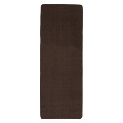 Bundinie Hill Bath Mat Rug Size: Runner 21 x 6, Color: Chocolate Brown