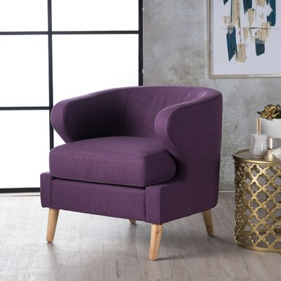 Chambers Barrel Chair Upholstery : Purple