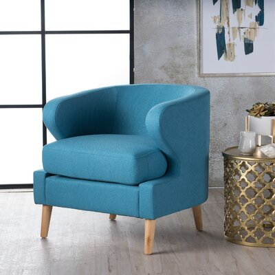 Chambers Barrel Chair Upholstery : Light Blue