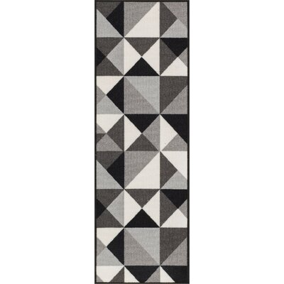 Christen Gray Area Rug Rug Size: Runner 27 x 12