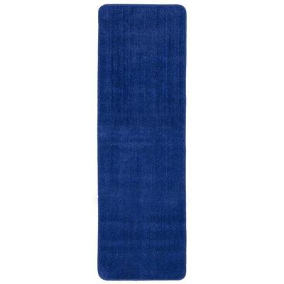Bundinie Hill Bath Mat Rug Size: Runner 18 x 49, Color: Blue