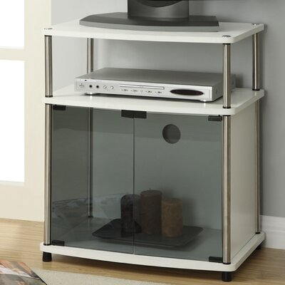 Burke 23.6 TV Stand Color: White