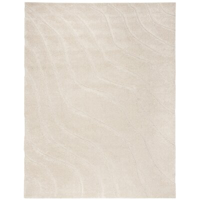 Enrique Cream Area Rug Rug Size: Rectangle 53 x 76