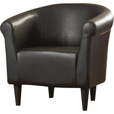 Liam Barrel Chair Upholstery: Walnut