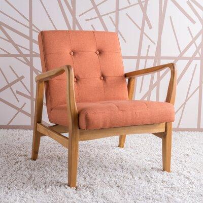 Milanna Armchair Upholstery: Orange