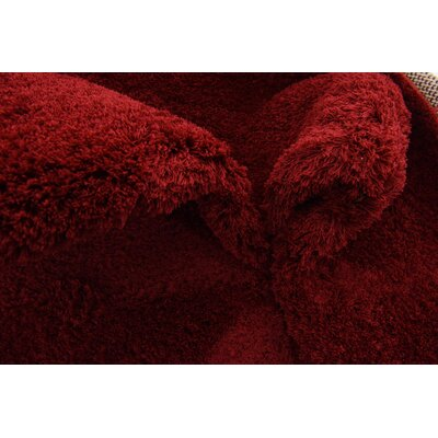Verna Red Area Rug Rug Size: Rectangle 5 x 8