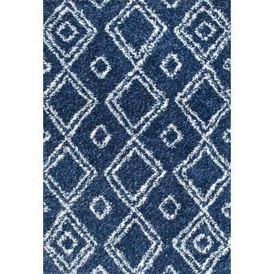 Alexa Lola Blue Area Rug Rug Size: Rectangle 67 x 9