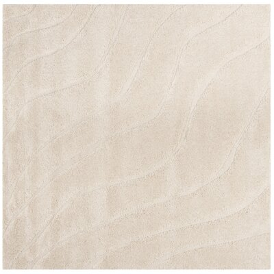 Enrique Cream Area Rug Rug Size: Square 67 x 67