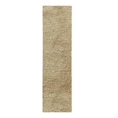 Catharine Hand-Woven Beige Area Rug Rug Size: Runner 26 x 8
