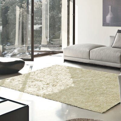 Catharine Hand-Woven Ivory Area Rug Rug Size: Rectangle 8 x 10