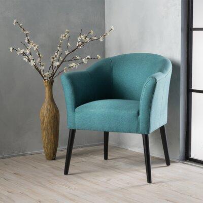 Magnus Barrel Chair Upholstery: Dark Teal