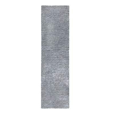 Catharine Hand-Woven Gray Area Rug Rug Size: Runner 26 x 8