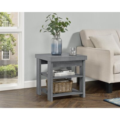 Viviene End Table Color: Gray Oak