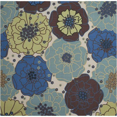 Avis Blue Indoor/Outdoor Area Rug Rug Size: Rectangle 53 x 53
