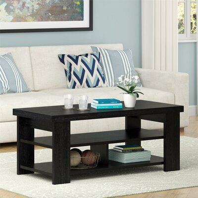 Viviene Coffee Table Color: Black Ebony Ash