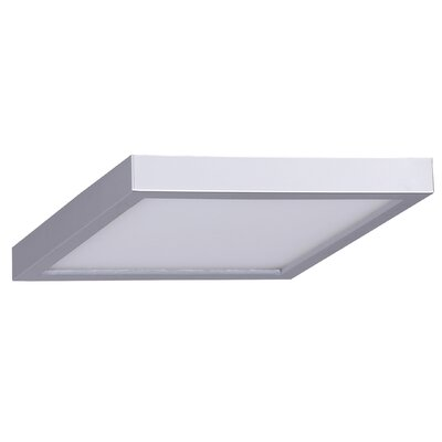 Madalynn LED Flush Mount Finish: Brushed Nickel
