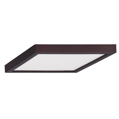 Madalynn LED Flush Mount Finish: Oil Rubbed Bronze