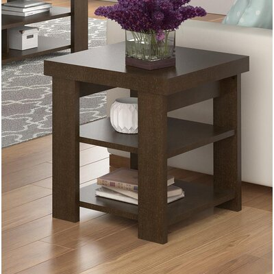 Viviene End Table Color: Espresso