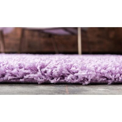 Madison Lilac Area Rug Rug Size: Rectangle 5 x 8, Color: Lilac