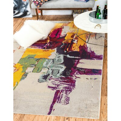 Amma Area Rug Rug Size: Rectangle 33 x 53