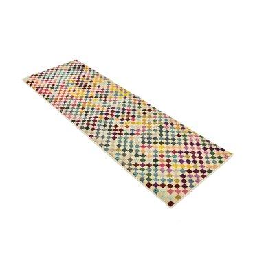 Chenango Yellow Area Rug Rug Size: Runner 22 x 67